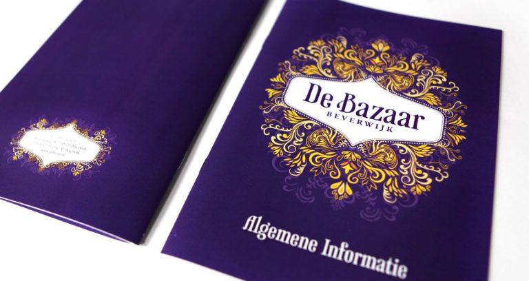 Brochure offset bedrukt