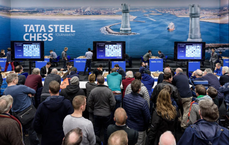 Tata Steel Chess Grootformaat printen